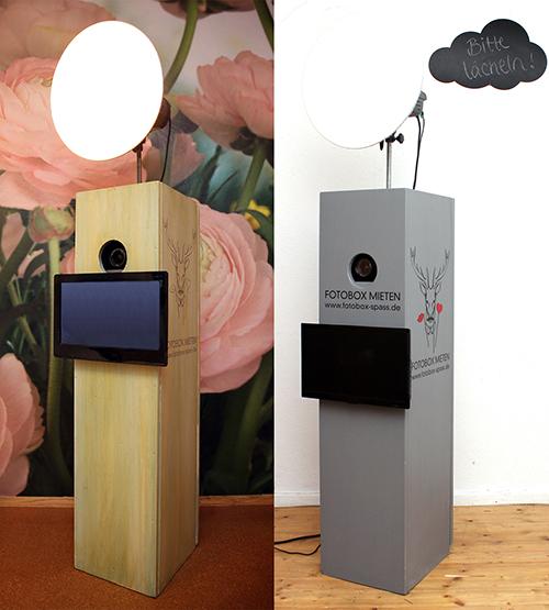 bemalte fotoboxen aus holz. Black Bedroom Furniture Sets. Home Design Ideas